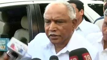 Video : I've great respect for Gadkariji, he has invited me: Yeddyurappa before going for BJP meet