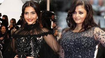 Bollywood divas at Cannes