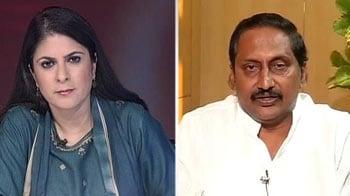 Video : Jagan going against YSR's will: Kiran Kumar Reddy to NDTV