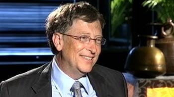 Video : What is your IQ, Sir? NDTV.com surfer asks Bill Gates