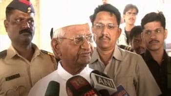 Video : Everyone should stand together against corruption: Anna Hazare