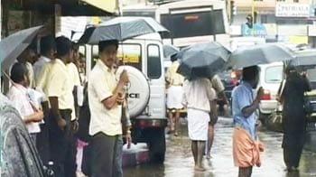 Video : Monsoon arrives in Kerala