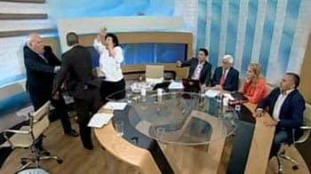 Video : Greece: Election campaign turns ugly on live TV