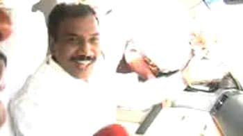 Video : After jail stint, A Raja to visit his constituency