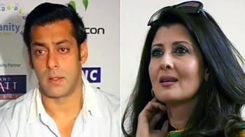 Video : Salman's night out with ex-flame Sangeeta Bijlani