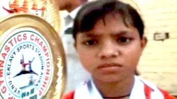 Video : हौसले की मिसाल बनी 10 साल की जिमनास्ट गीतांजलि