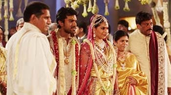 Video : Chiranjeevi's son Ram Charan Teja ties the knot with Upasana