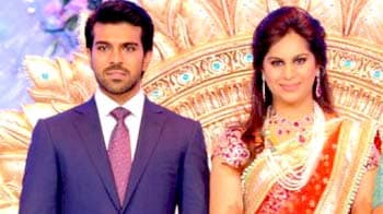 Ram Charan Teja, Upasana's grand reception