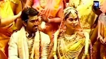 Video : चिरंजीवी के बेटे की शादी में उमड़ा बॉलीवुड