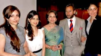 Video : Kareena's London lunch with Saif and family