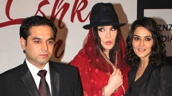 Video : Preity's French rendezvous in Mumbai