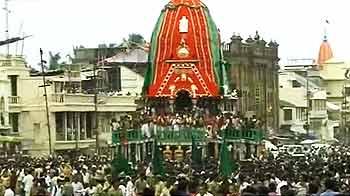 Videos : गुजरात : जगन्नाथ पुरी की रथयात्रा शुरू