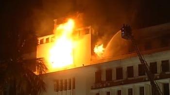 Video : 3 die in Mantralaya fire; blaze surges again at Mumbai secretariat