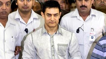 Video : Aamir's <i>Satyamev</i> visit to Parliament
