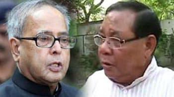 Video : Presidential poll: Pranab Mukherjee, PA Sangma to file their nominations today