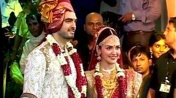 Inside Esha Deol's wedding