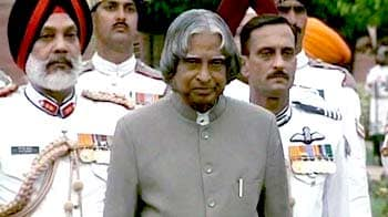 Video : Opposition attacks APJ Abdul Kalam over book