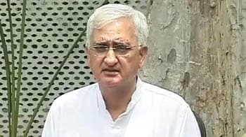 Video : Khurshid doesn't deny Rahul remarks, but says they were misinterpreted