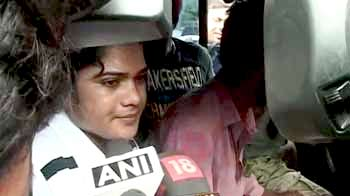Video : Pinki Pramanik leaves jail after 25 days, says she has been 'framed'