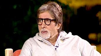 Video : Amitabh Bachchan roars for the tiger