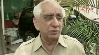 Video : I don't think it's a losing battle: Jaswant Singh on Vice-President polls