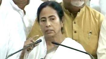 Video : Will vote for Pranab for President, but not happily, says Mamata
