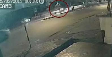Video : Speeding car, with teen as driver, runs over Mumbai senior