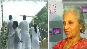 Video : Rajesh Khanna could never remember his song's lines: Waheeda Rehman