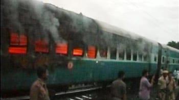 Video : तमिलनाडु एक्सप्रेस के डिब्बे में आग