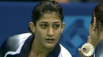 Video : London 2012 Badminton: Ponappa-Jwala suspect foul play