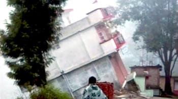 Video : उत्तरकाशी में देखते ही देखते कटाव में बह गया मकान