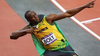 Videos : लंदन ओलिंपिक : बोल्ट ने फिर मारी बाजी