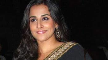 Video : No more <i>saris</i> for Vidya