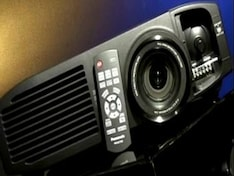 Are projectors challenging large screen TVs?