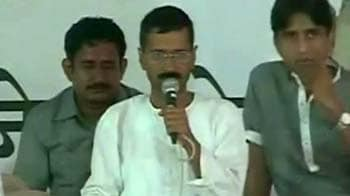 Video : Efforts are on to split Anna and team: Kejriwal