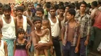 Video : In Assam's relief camps, the battle for life rages on