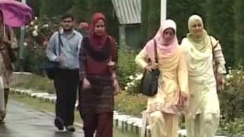 Video : Campus politics in Kashmir university