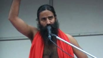 Video : Baba Ramdev to end fast at 11 am, may leave for Haridwar