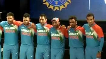 Video : Team India gets new jersey for T20