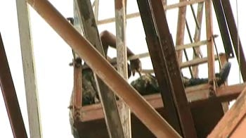 Video : Armyman climbs 200-ft tower to protest threat from officer