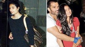 Video : Suniel Shetty's daughter all set for Bollywood debut?