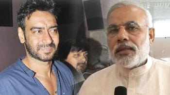 """Video : Ajay Devgn to """"hang out"""" with Narendra Modi"""