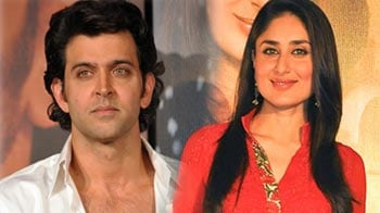 Video : Doing a film together? Kareena says 'yes', Hrithik says 'no'