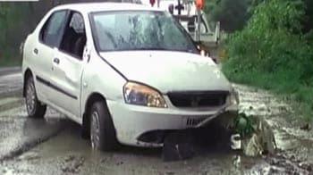 Video : हरियाणा में शराब तस्करों ने पुलिसवाले को कार से रौंदा
