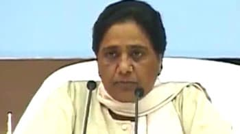 Video : I appealed to BJP to support quota bill, but they are being stubborn: Mayawati