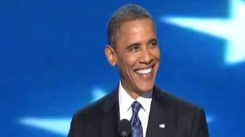 Video : Obama accepts party's nomination for second term