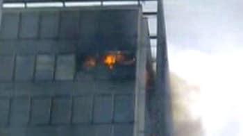 Video : Major fire at Mumbai's Bandra Kurla complex