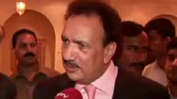 Video : New visa agreement will be 'a historic move', Rehman Malik tells NDTV