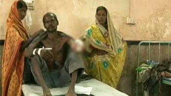 Video : Labourer's hand chopped allegedly by employers for asking for pay