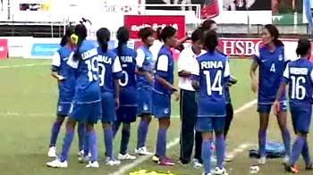 Indian womens team defends SAFF title